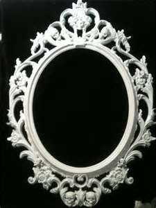 Image Detail for - ... Picture Frame Mirror Shabby Chic Baroque Gothic Victorian Tattoo