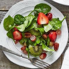 Summer+Fruit+&+Spinach+Salad++-+The+Pampered+Chef®