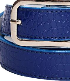 Espana Adorable Blue Croc Embossed Ladies Belt    http://www.snapdeal.com/product/espana-adorable-blue-croc-embossed/510887?utm_source=Fbpost_campaign=Delhi_content=2755411_medium=271112_term=Prod
