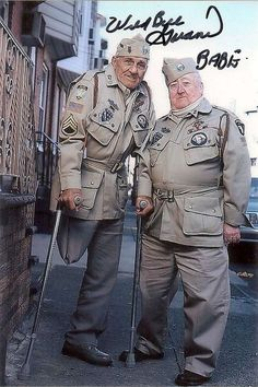 Bill Guarnere and Babe Heffron first met as members of Easy Company, even though they'd grown up just a few miles from each other in Philadelphia. They became lifelong best friends, and died just a few weeks apart in 2015.