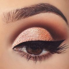 Ways of Applying Eyeshadow for Brown Eyes ★ See more: http://glaminati.com/eyeshadow-for-brown-eyes/
