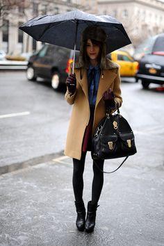 El street style de New York Fashion Week Fall 2013