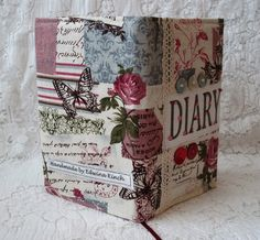 2013 Diary cover - Vintage chic £8.50