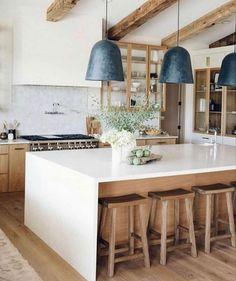 Home Decor Kitchen, New Kitchen, Home Kitchens, Kitchen Decorations, Decorating Kitchen, Home Decoration, Home Interior, Kitchen Interior, Interior Design