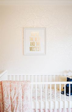 An Adorable Pink and Navy Nursery - Inspired by This