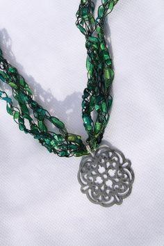 31 Best Ladder Yarn Ideas images in 2013   Yarn necklace