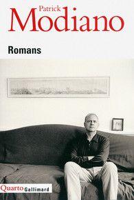 Romans, Patrick Modiano - Gallimard
