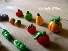 vegetables polymer clay