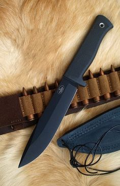 Fallkniven A1 Survival Knife A1BL  ORIGINAL by RoninGear on Etsy, $179.00