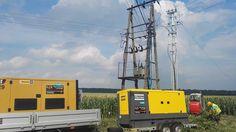 Zasilanie Agregatem Trafostacji. Agregaty prądotwórcze 24h /7  Usługi agregatem 24h Eve Energy - dostarczamy megawaty pozytywnej energii...  #agrgegatyPrądotwórcze #generatoryPrądu #wynajem #usługi