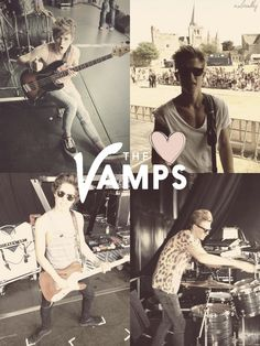 """Anyone else like The Vamps? My favorite song is """"Can We Dance"""" and their cover of """"Little Things"""". What are y'all's? :)"""