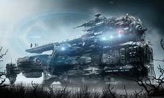 Welcome to the dark futuristic imagination and vision of German digital artist Markus Vogt. Incredible Science Fiction and Horror themed images from Markus Vogt. Futuristic Cars, Futuristic Design, City Landscape, Fantasy Landscape, Blade Runner, Angel Of Death, Zbrush, Sci Fi Wallpaper, Sci Fi Anime