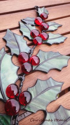 Christmas wreath (10/20) - Stained Glass : Stained Attend