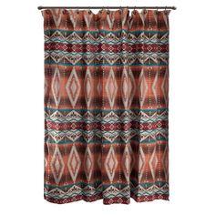Found It At Wayfair   Mojave Sunset Southwest Desert Turquoise Shower  Curtain