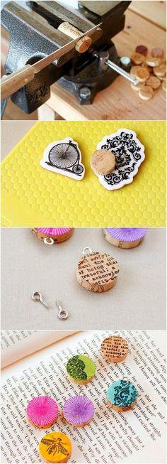 cork pendants