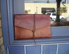 Envelope Leather Case iPad Sleeve iPad/Mini iPad by ZenNature