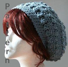 bobbles slouch hat crochet pattern