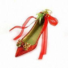 Stylish Christmas Shoe Ornaments
