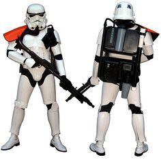 Sandtrooper white armor.