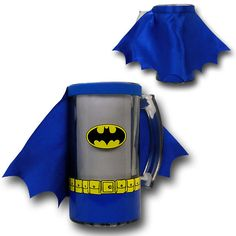 Batman and Superman Caped Costume Mugs With Handles Superman Cape, Batman And Superman, Awesome Inventions, Pottery Classes, Mugs, Mug Shots, Drinkware, Dc Comics, Creativity