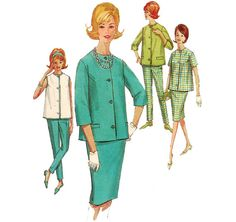 1960s Maternity Clothes  Vintage Pattern Simplicity by ErikawithaK
