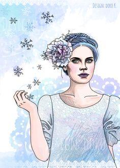 #winterpost für #flow magazin: Winter Girl