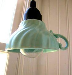 Lampen-made-with-cups-Kunst-Dekoration-home