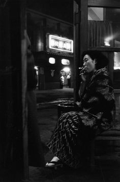 Tadahiko Hayashi (5 March 1918 - 1990). From the series Kasutori Jidai (Days in the Dregs).