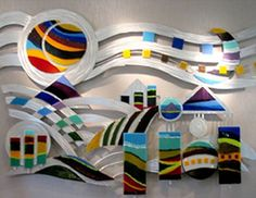 fused glass sculpture - Google Search