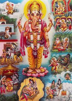 Lord Ganesha & Ganesh Leela