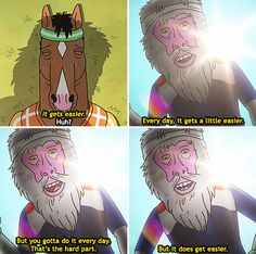 "And when this scene proved that there is always a glimmer of hope. | 31 Times ""Bojack Horseman"" Got Way, Way Too Real"