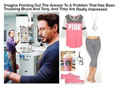 """""""Imagine Pointing Out The Answer To A Problem That Has Been Troubling Bruce And Tony, And They Are Really  Impressed"""" by alyssaclair-winchester ❤ liked on Polyvore featuring Beyond Yoga, Vans, Larke, BERRICLE, women's clothing, women, female, woman, misses and juniors"""