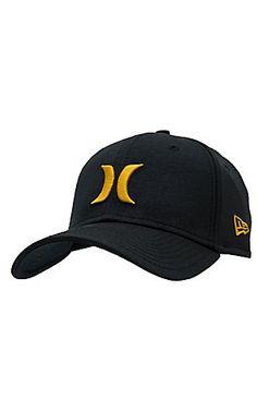 Hurley One & Only Black Gold Coast New Era Cap