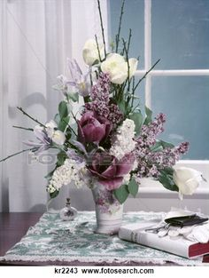 flowers arrangements from the 1950's era - Google Search