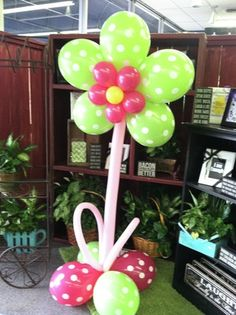 balloon flower- what a cheerful gift or decoration