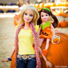 Barbie with Chelsea