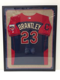 Double Sided Frame Jersey Custom Picture Framing In