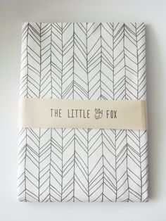 SALE STOKKE MINI Cot Crib Sheet in by TheLittleFoxDesigns on Etsy