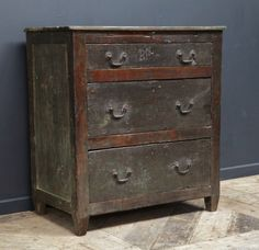 A English Oak provincial Chest of drawers, George III period, circa 1780