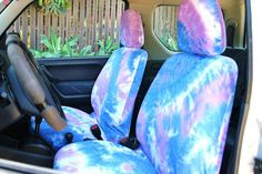 Galaxy print car seat covers: car front seat covers. Space 1999 ...