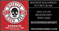 Houston Halloween Fun Run for the family with Karbach Beer and costume contest