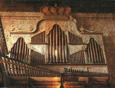 The Bamboo Organ at the St Joseph Parish in Las Piñas. The organ was built by Padre Diego Cera, 1816.