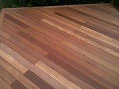 Balau Hardwood decking, Brighton & Hove, Sussex