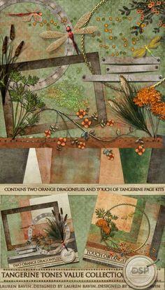 Tangerine Tones Value Collection