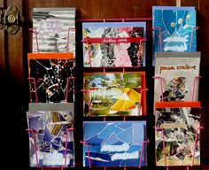 Postcards - collages