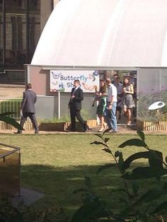 Kate, William and George visited a butterfly show in London this morning!!  2/7/14