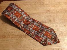 "Vintage PIERRE CARDIN Mens Tie - 100% Imported Silk -  4"" x 58"" #PierreCardin #NeckTie"