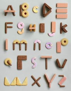 Food Typography, Typography Alphabet, Creative Typography, Typography Design, Typography Images, Inspiration Typographie, Typography Inspiration, Alphabet Design, Types Of Lettering