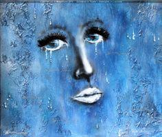 """ Drowned in Tears "" - MayaSunn Oeuvre D'art, Les Oeuvres, Creations, Gallery, Artwork, Work Of Art, Roof Rack, Auguste Rodin Artwork, Artworks"