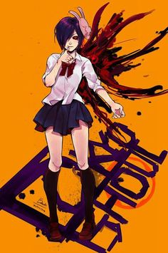 anime and tokyo ghoul image